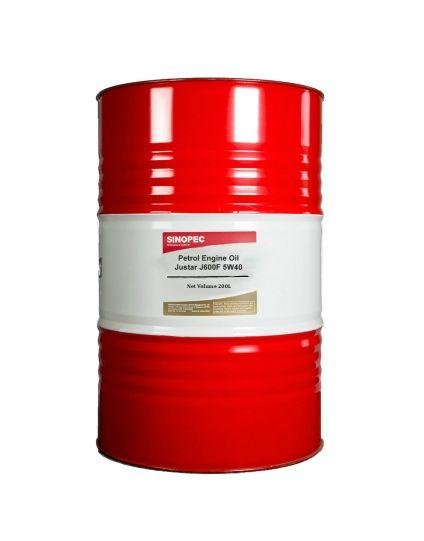 PETROL ENGINE OIL JUSTAR J600F PREMIUM SM/CF C3-4 5W40 200L