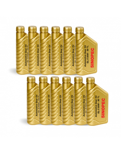 GEAR OIL AUTO HD GL5 80W90 1L
